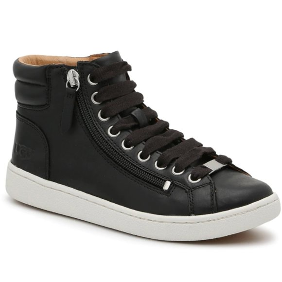 UGG Shoes | Black High Top Sneakers